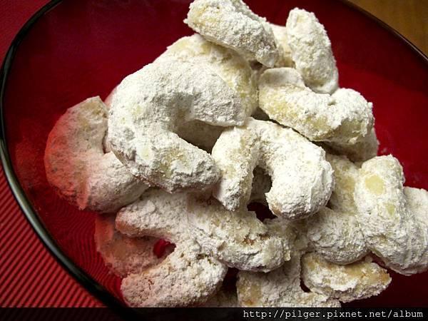 香草月牙餅乾