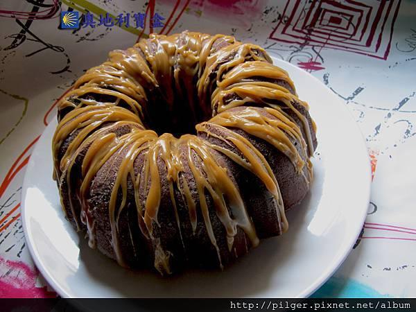 花生夾心 巧克力磅蛋糕_奧地利寶盒_