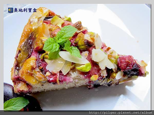 李子杏仁蛋糕