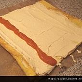 南瓜捲心蛋糕