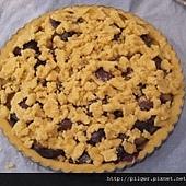 黑李奶油奶酥蛋糕