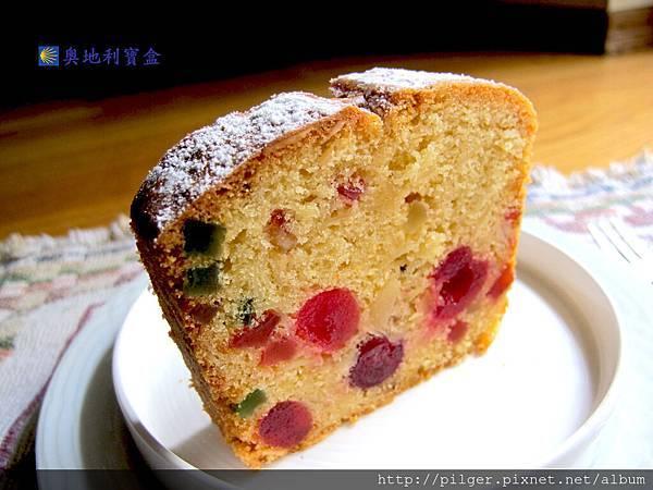 糖漬櫻桃水果磅蛋糕