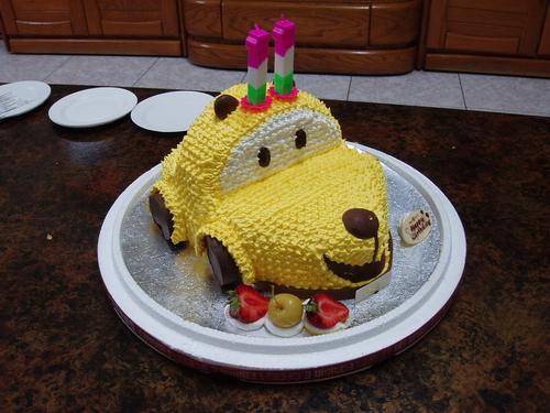 小敬11歲生日蛋糕