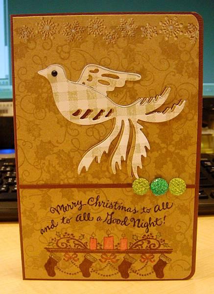 20121121聖誕卡