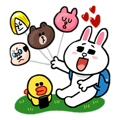 Line-Sticker-Gallery-Free-Logo