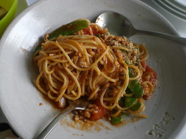紅悅─肉醬義大利麵