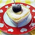 戚風蛋糕(布丁餡)