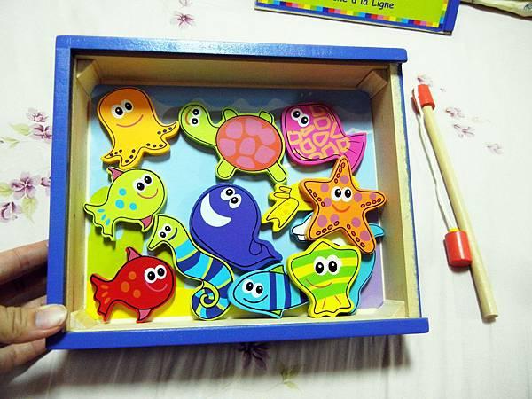 玩具 ─ 木製磁鐵釣魚