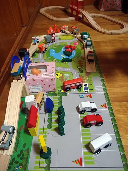 木製軌道火車