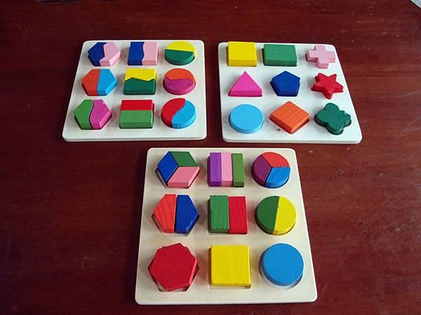木製玩具 ─ 形狀拼圖