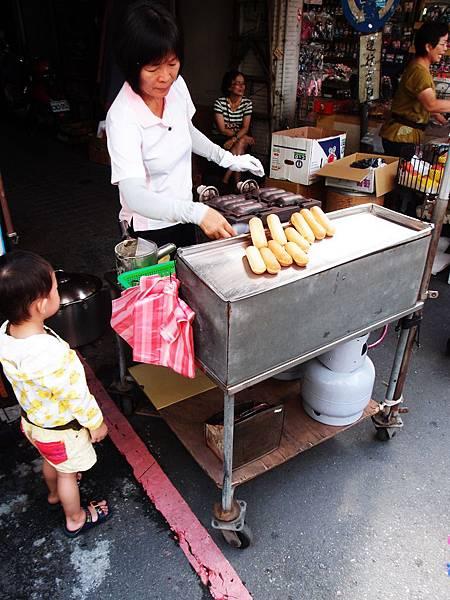 中央市場雞蛋糕