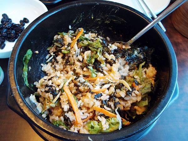 石鍋拌飯+魷魚鍋