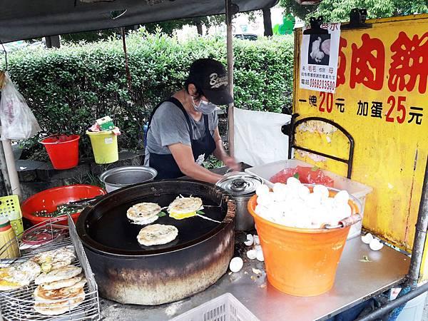🐳 屏東市棒球路上的『美華蔥肉餅』🐳-雪花新聞