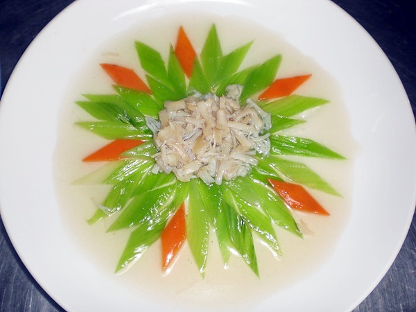 203A ─ 干貝燴芥菜