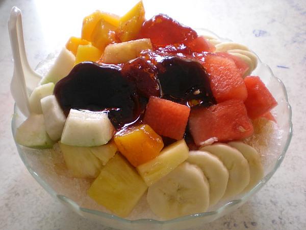 海之冰─布丁水果冰2倍