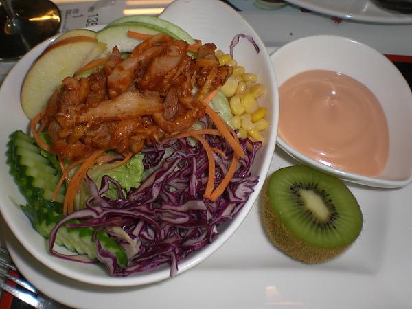 沐之村─燻雞沙拉套餐