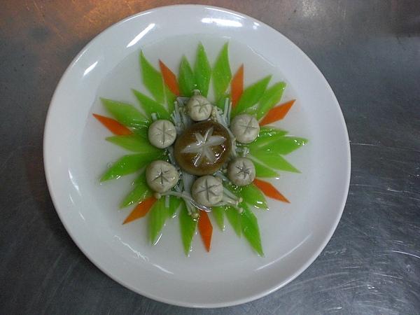 201D‧三菇燴芥菜