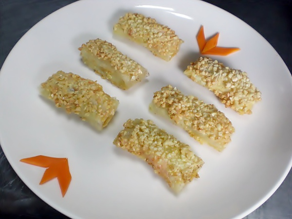 203A ─ 威化香蕉蝦捲