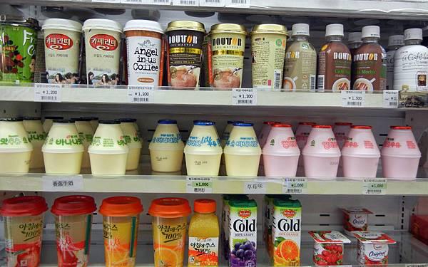 韓國超商食物