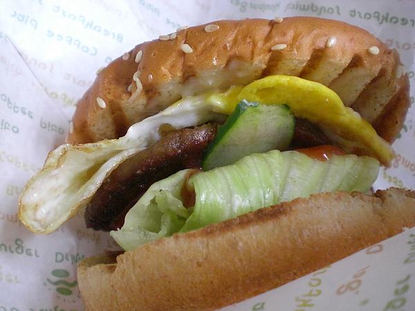 麥味登─豬肉漢堡