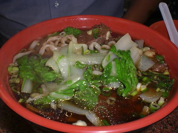 孔家小館─牛肉麵