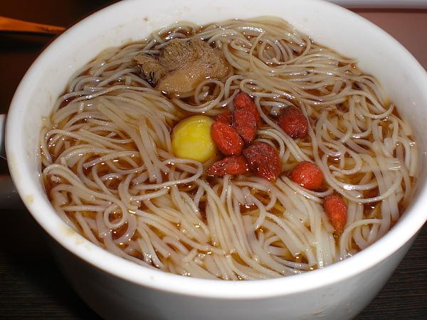 心田─猴菇麻油麵線
