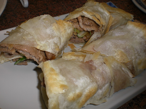 孔家小館─豬肉捲餅