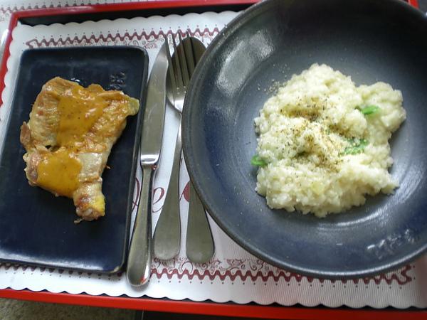 紅悅─烤雞燉飯