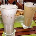 白色希望─鮮奶茶、多多綠
