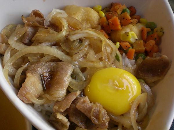 沐之村─豬肉丼飯