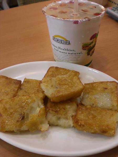 拉亞─蘿蔔糕+奶茶