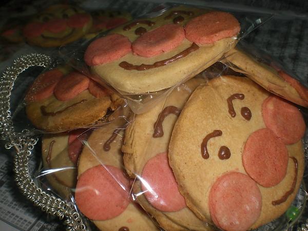 手做─麵包超人蜂蜜餅乾(包裝好)