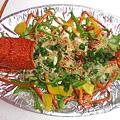 焗烤彩椒龍蝦