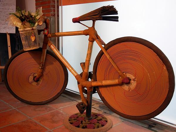 圓山區 ─ 文化館(香製作的腳踏車)