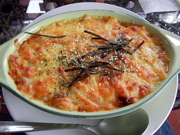 萬金1985 ─ 韓式泡菜牛肉焗飯