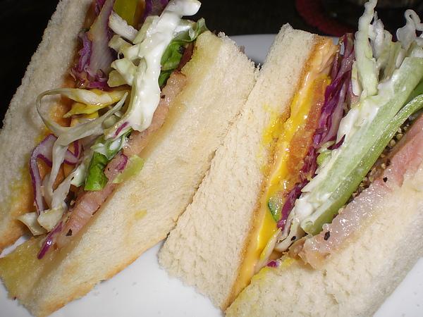 巴洛可可─培根起士三明治