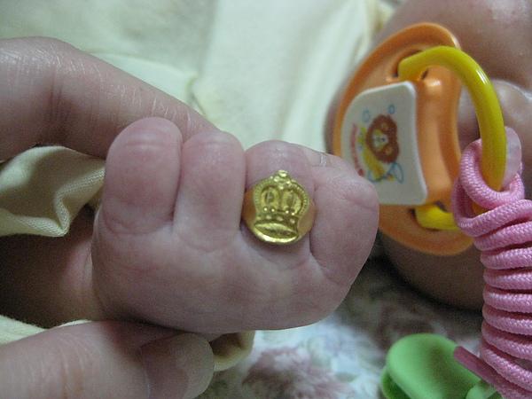 GF&GM送我的金戒指~酷吧!!!
