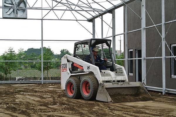 溫室建設-搭鋼架與整土 (16)