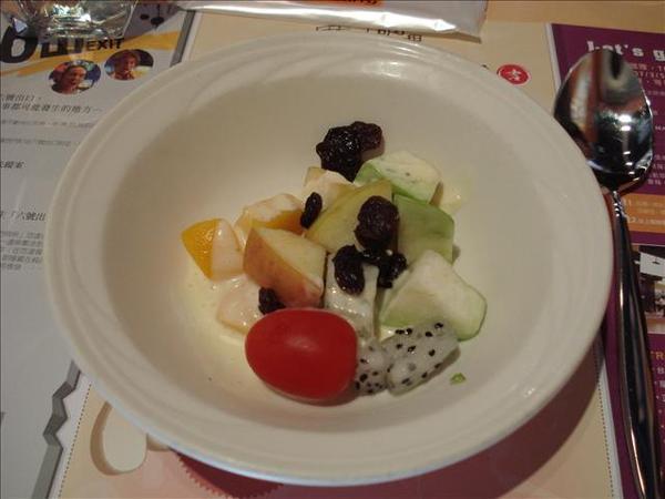 開胃菜-水果沙拉