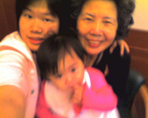 我&可愛姪女&李媽媽