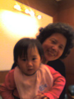 可愛渟&李媽媽
