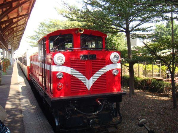 阿里山的小火車