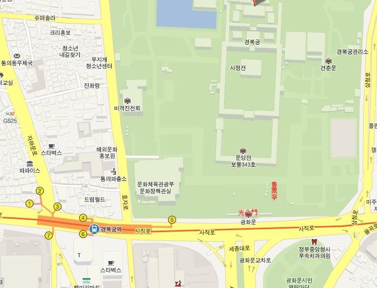 景福宮地圖_大