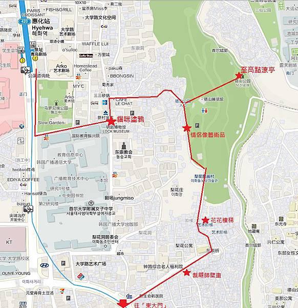 駱山公園地圖