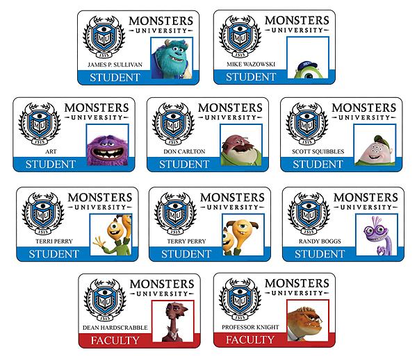 Monsters-university-all-new-student-faculty-id-cards.png