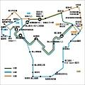 南山循環巴士路線圖(印)