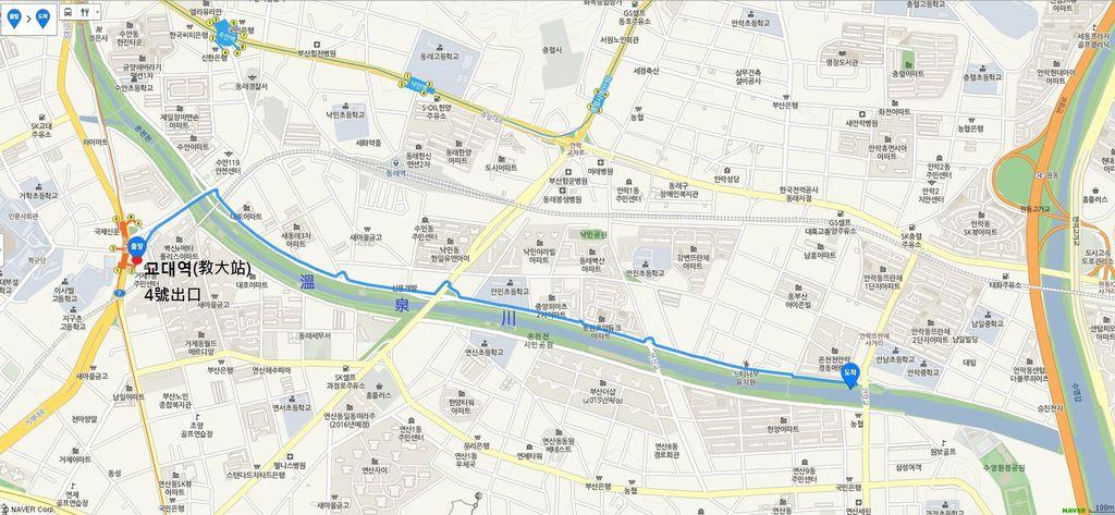 MAP RIVERSIDE