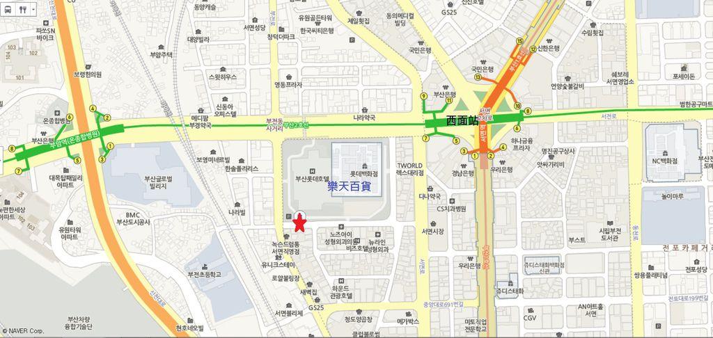 五福蔘雞湯地圖