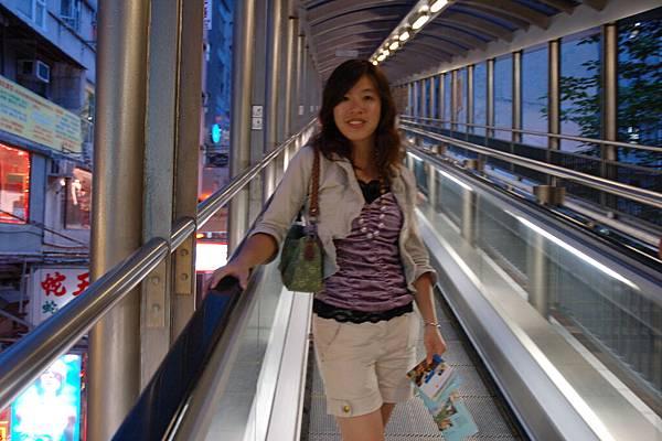 中環-半山電扶梯
