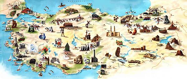 Turkey-Tourist-Map